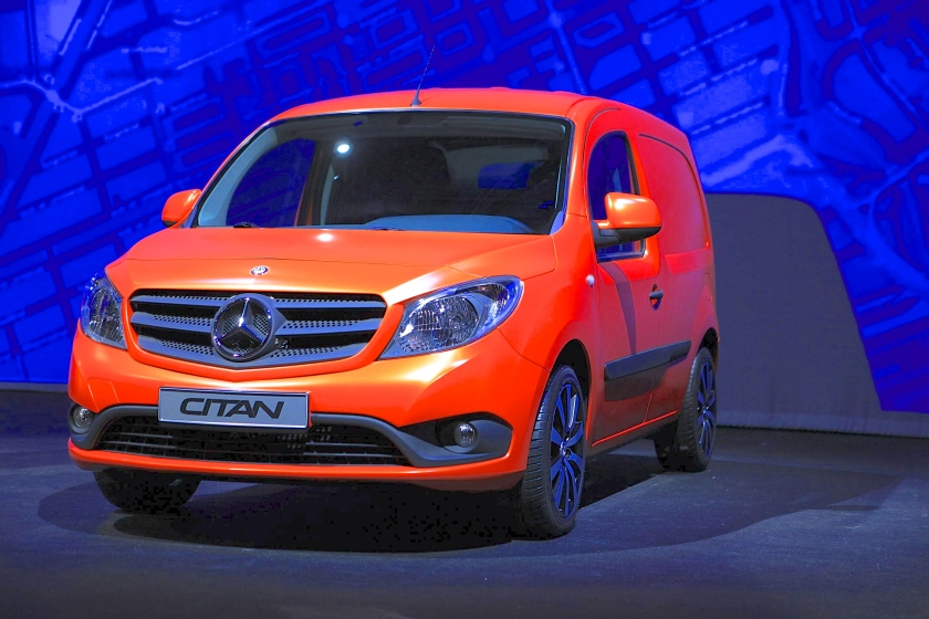 2012 Mercedes Benz Citan world premiere