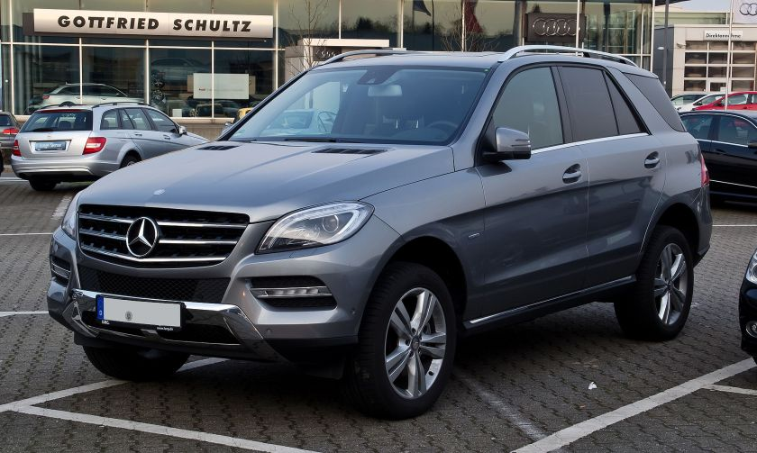 2012 Mercedes-Benz M-Class ML 250 BlueTEC 4MATIC (W 166)