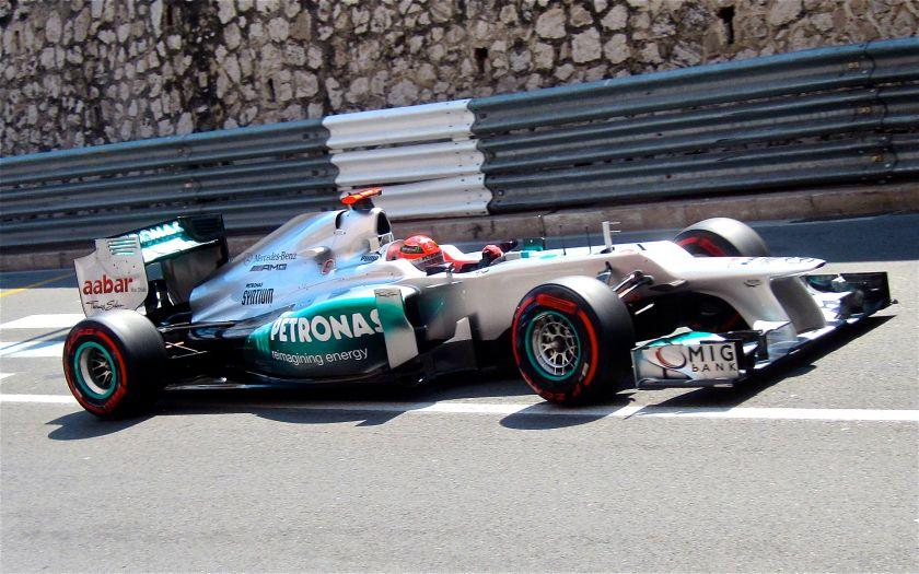 2012 Mercedes F1 W03