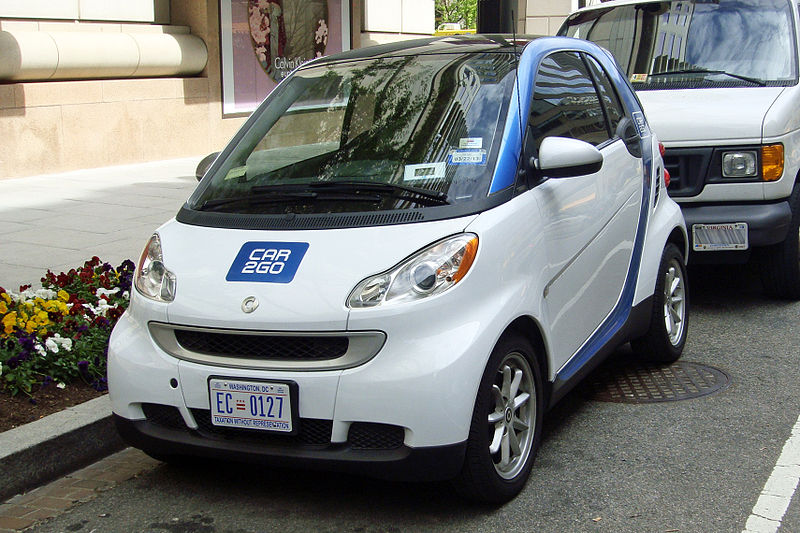 2012 Smart Car2Go wahington DC
