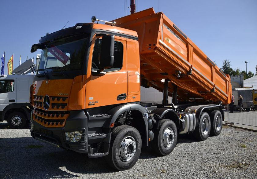 2013 Mercedes Benz Arocs dump truck version
