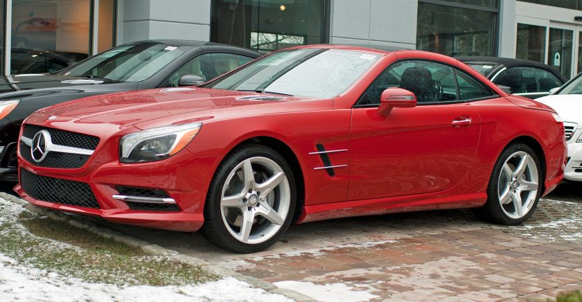 2013 Mercedes Benz SL 550 vf 7-spd automatic