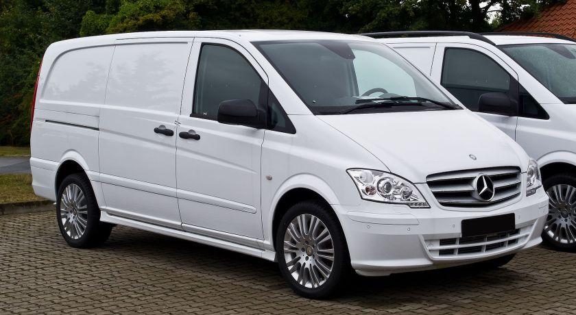 2013 Mercedes Benz Vito Kastenwagen Lang 122 CDI Effect (V 639, Facelift)