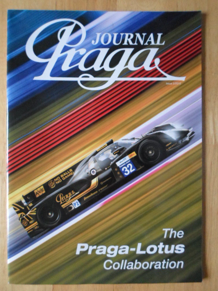 2013 PRAGA - LOTUS Collaboration Journal brochure 2013 - R1 T128 LMP2 Karting
