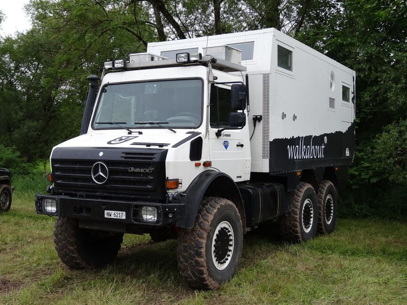 2013 Unimog 437 U4000 6x6 RV Unicat MD52h