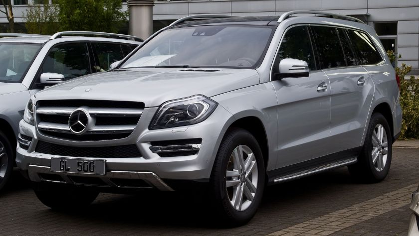2014 Mercedes Benz GL 500 4MATIC (X 166)