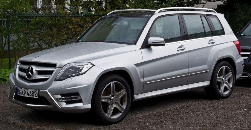 2014 Mercedes Benz GLK 220 CDI 4MATIC Sport-Paket AMG (X 204, Facelift)