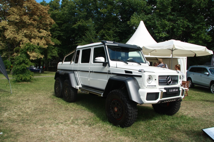 2014 Mercedes Benz W463 G 63 AMG 6x6 at Legendy