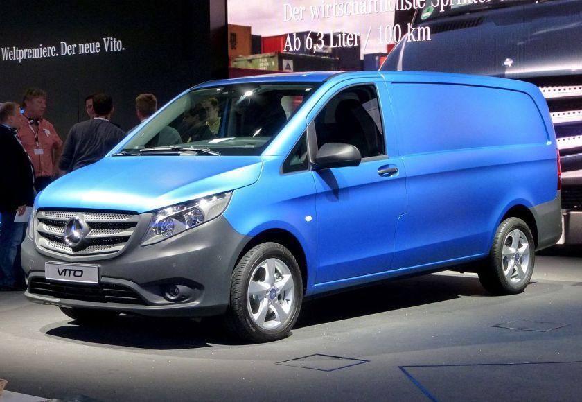 2014-present Mercedes Benz Vito Kastenwagen (447)