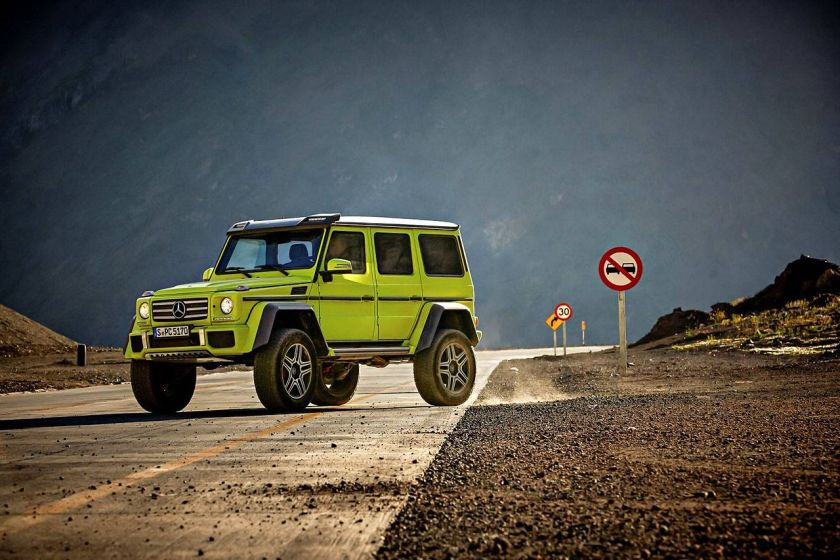 2015 Mercedes Benz G 500 4×4² in off-road test a