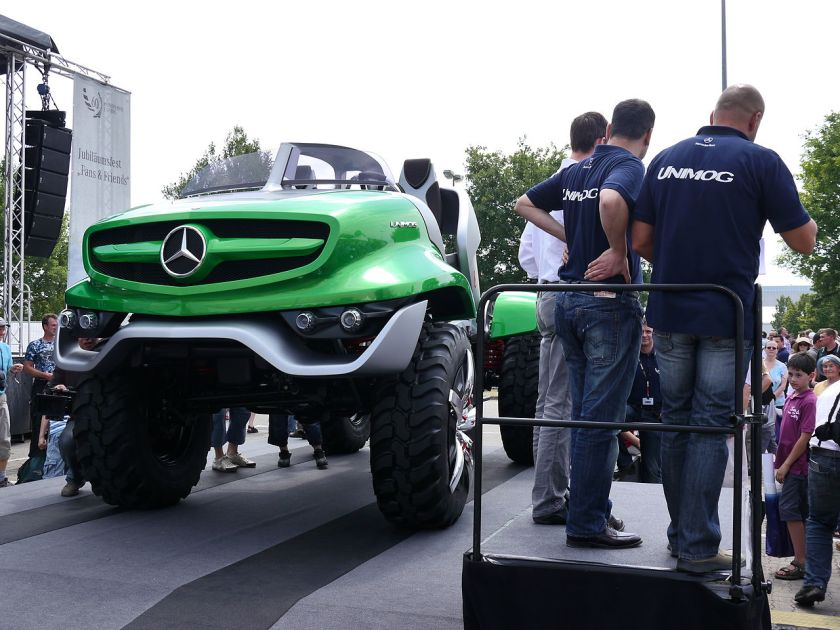 60 years Mercedes-Benz Unimog design concept