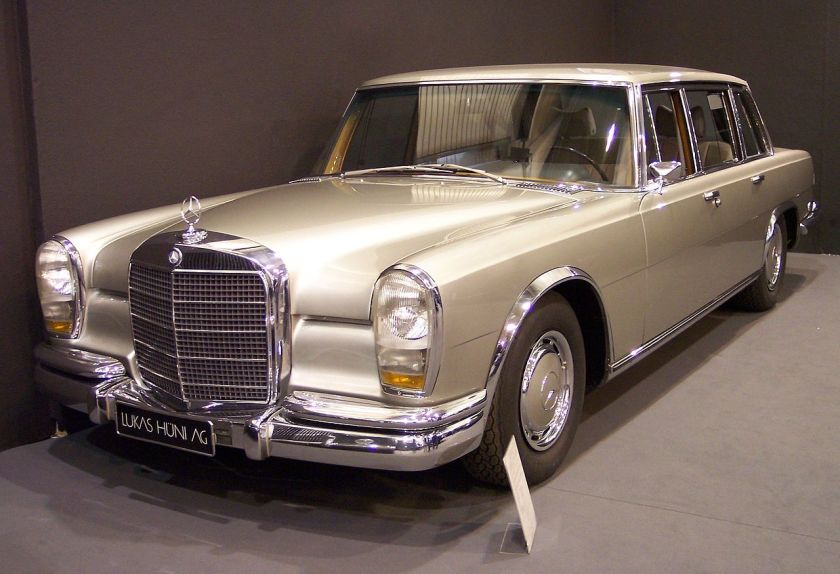 A 1963-78 Mercedes Benz 600 W 100 vl silver TCE
