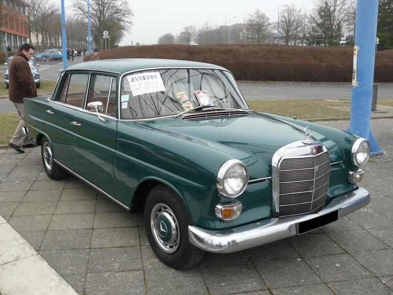 A 1967 Mercedes Benz 200D W 110