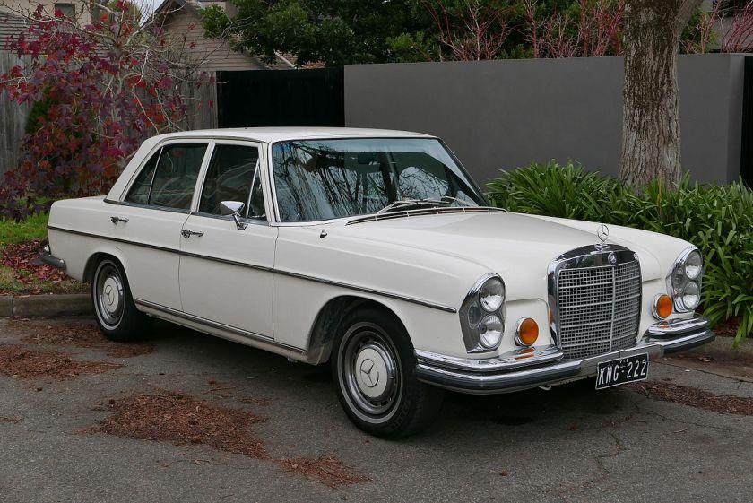 A 1970 Mercedes Benz 280 SE (W108) sedan