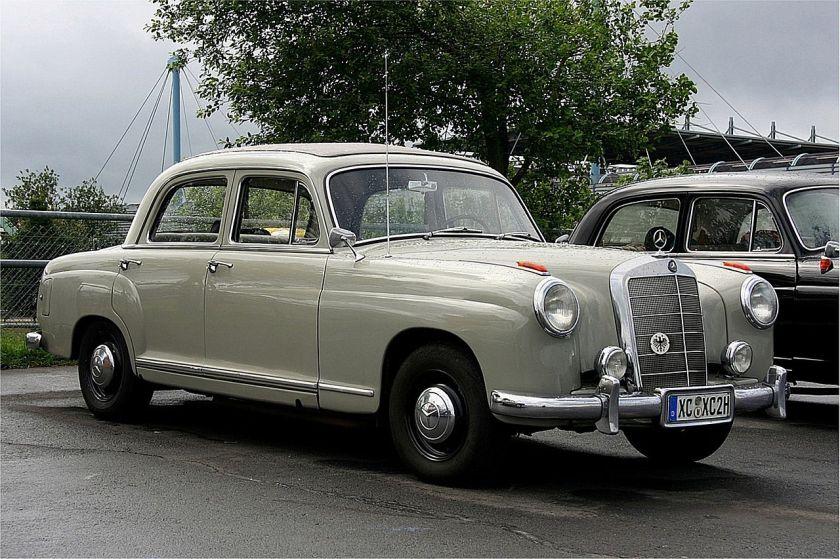 A Mercedes Benz 219 (W105)