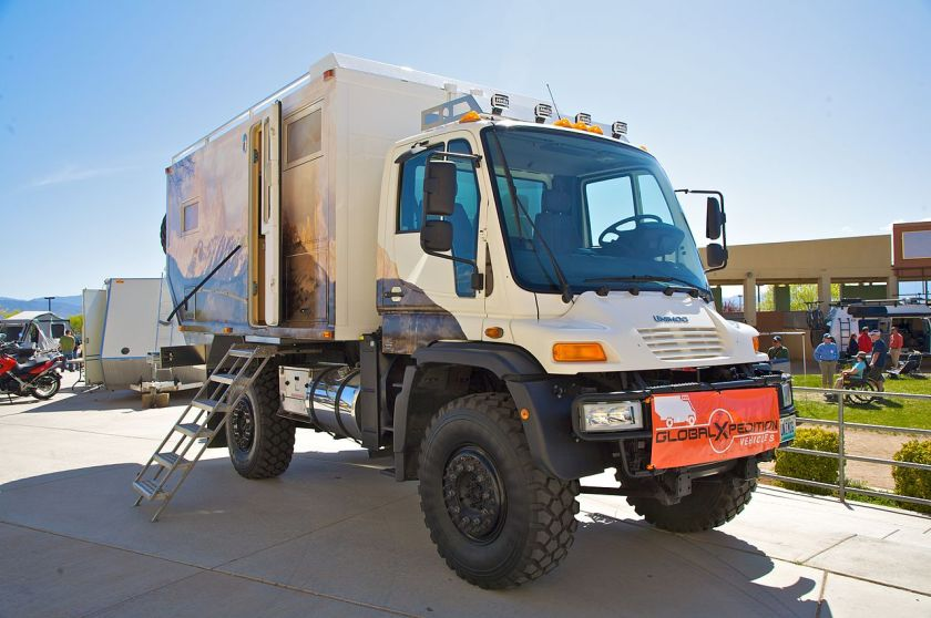 Freightliner Unimog U500 in the United States