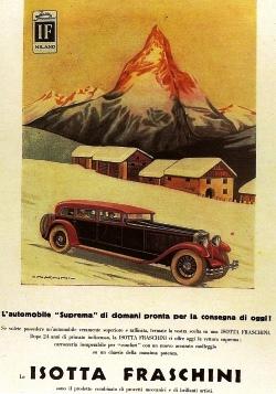Isotta Fraschini e Cervino POSTER-7