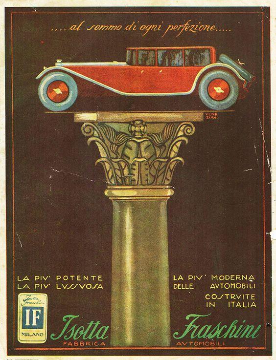 Isotta Fraschini  Vintage Italian Luxury Cars