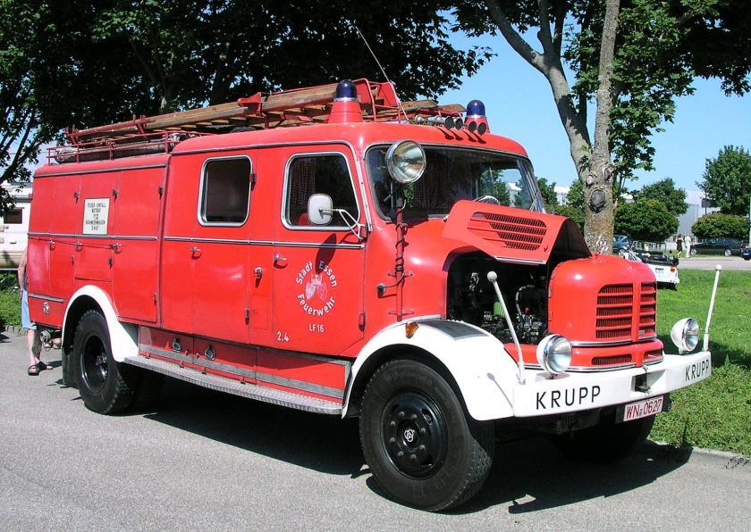 Krupp Elch Feuerwehr Essen
