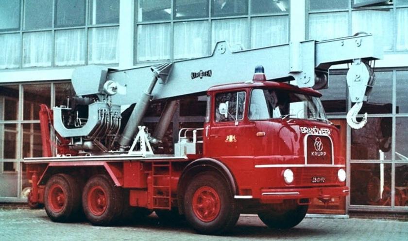 Krupp feuerwehr rescue