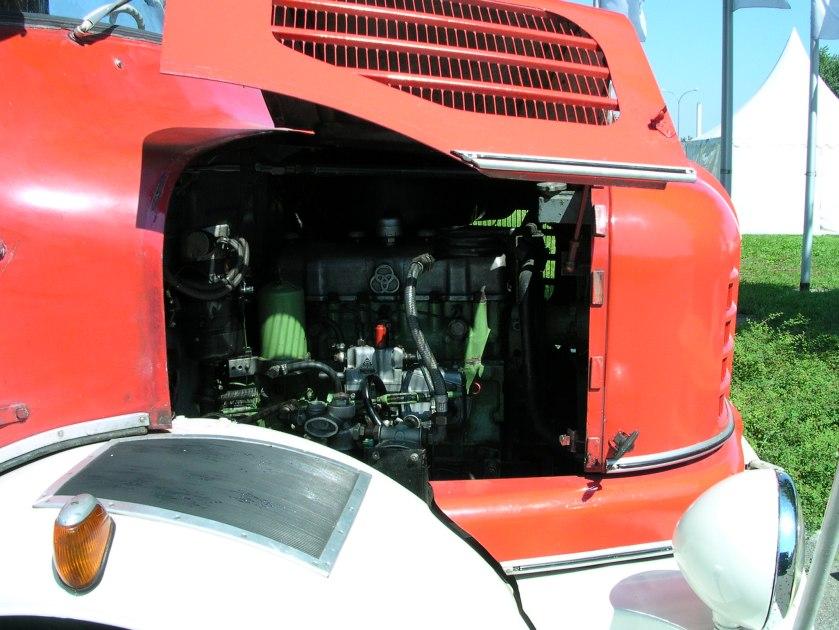 Krupp Firebrigade motor