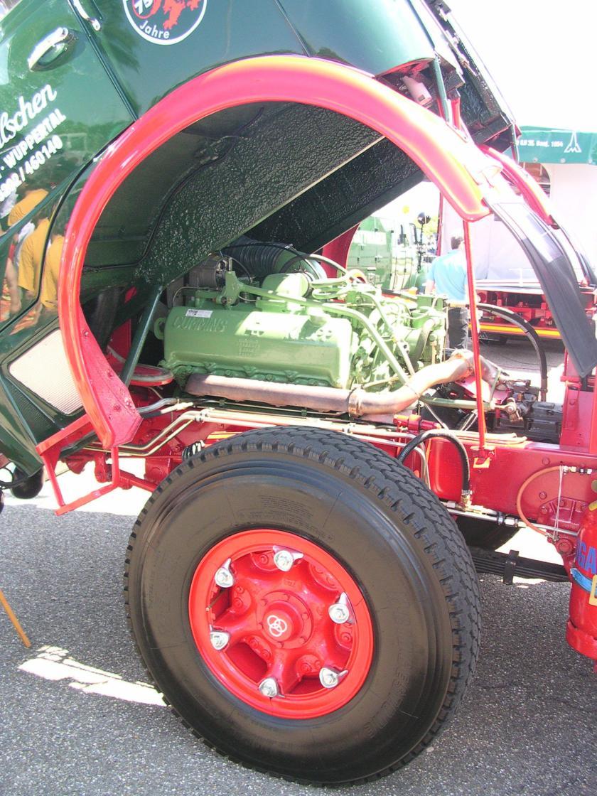Krupp Frontlenker Sattelzugmaschine b motor