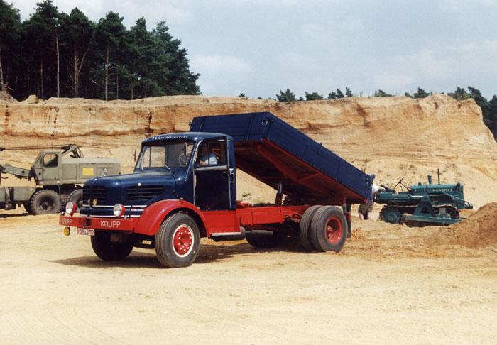 Krupp K 701 von Herrn Wortmann aus Schmallenberg, später verkauft an Decker & Hruschla aus Varel a