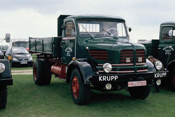 Krupp K 701 von Herrn Wortmann aus Schmallenberg, später verkauft an Decker & Hruschla aus Varel b