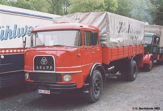 Krupp LF 980 Pritschen-Lkw 729