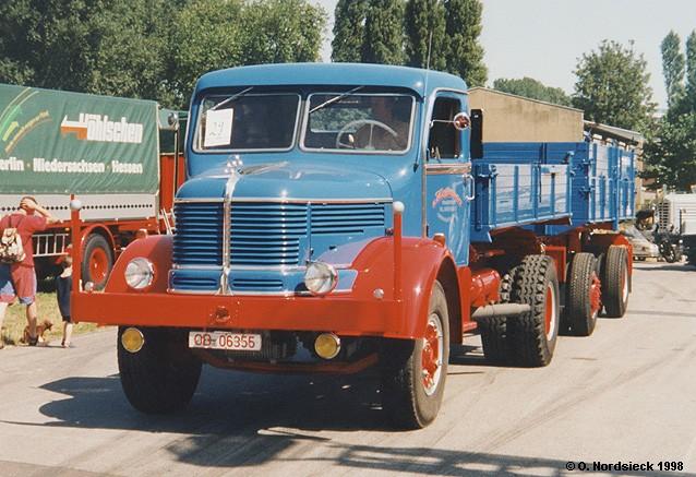 Krupp Mustang Kipper-Lastzug (überarbeitete Form)