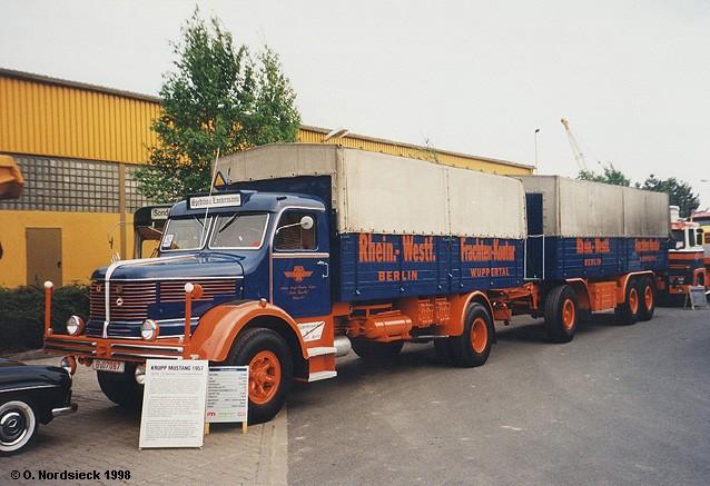 Krupp Mustang Pritschenlastzug