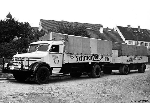 Krupp Südwerke Mustang Pritschenlastzug
