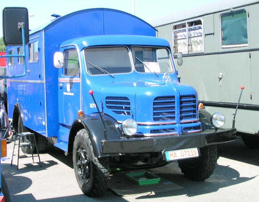 Krupp THW Mannschaftswagen