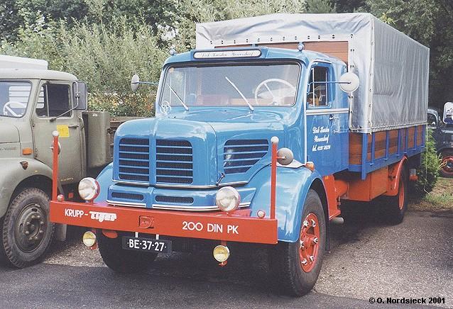 Krupp Tiger Pritschen-Lkw