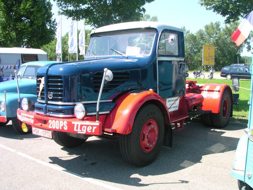 Krupp Tiger Zugmaschine
