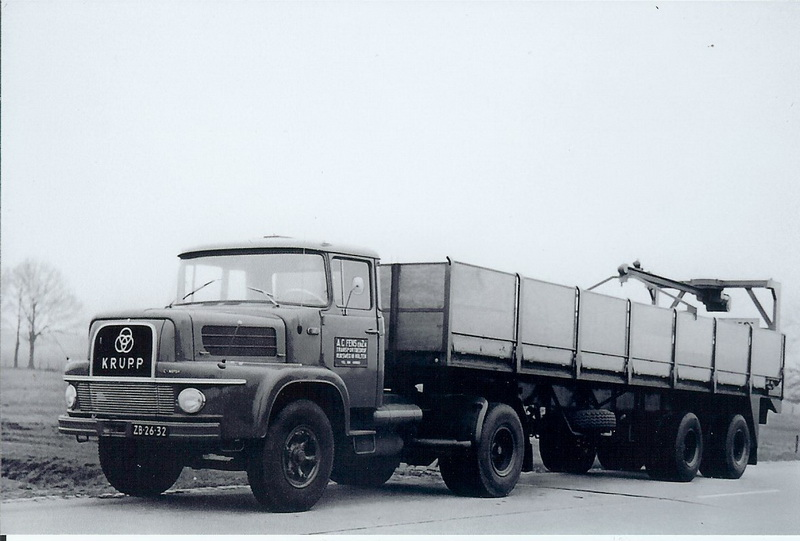 Krupp Transportbedrijf A.C Fens uit Hulten