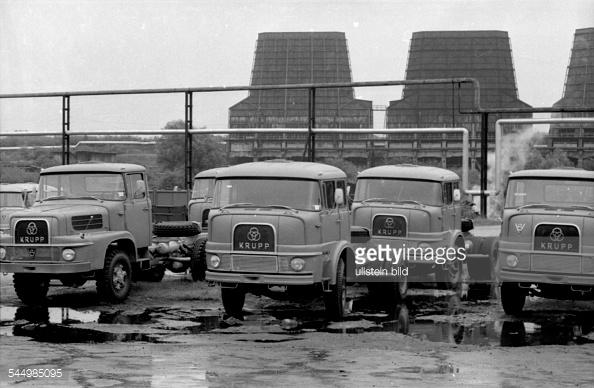 Krupp trucks