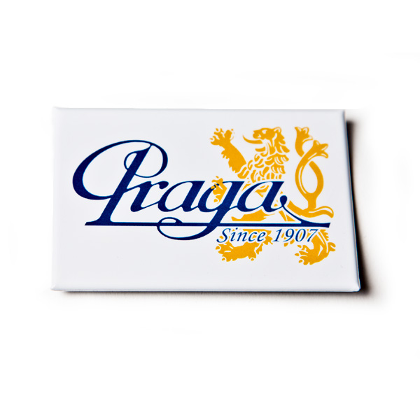 magnet-with-praga-logo