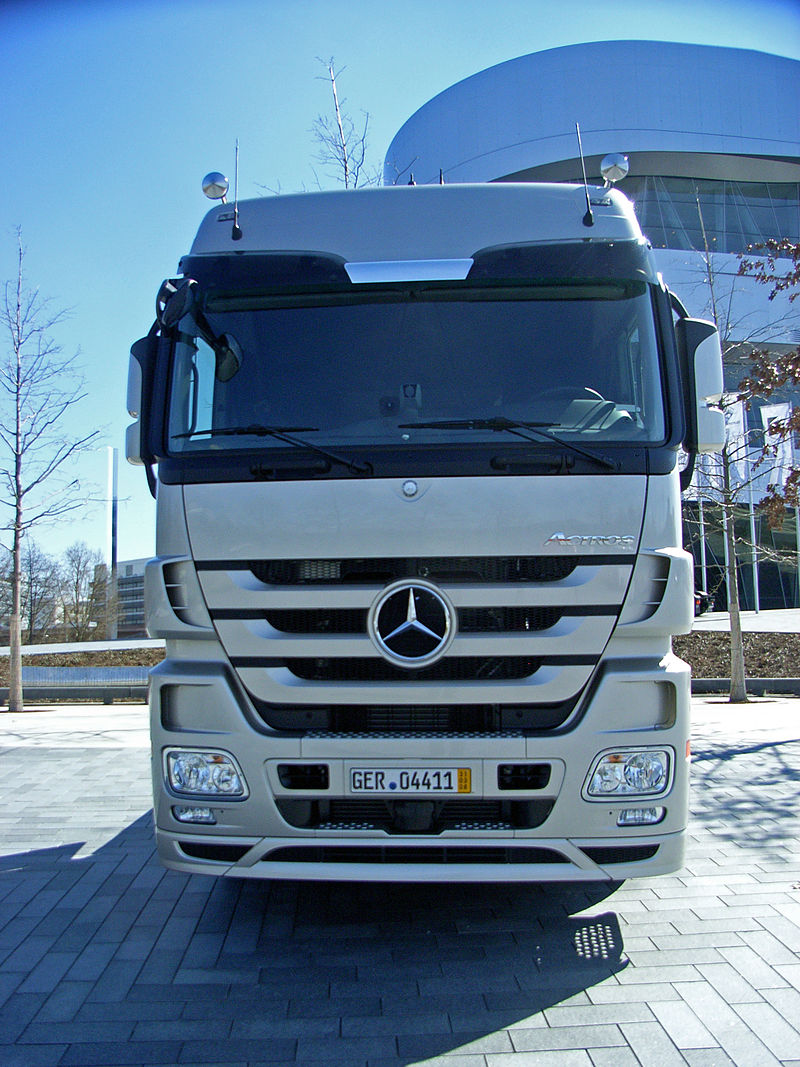 Mercedes Benz Actros 1848 BlueTec 5-4