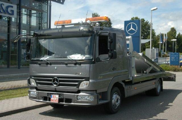 Mercedes Benz Atego Facelift front