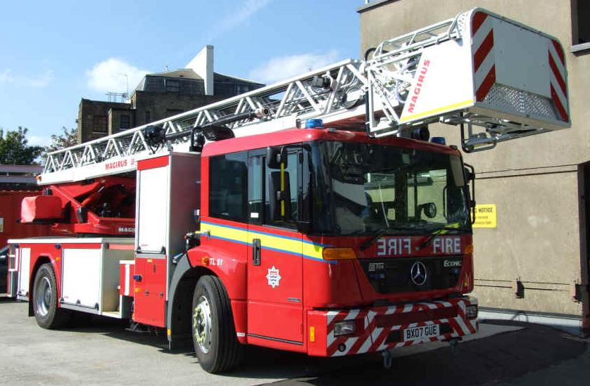 Mercedes benz Econic LFB Turntable Ladder