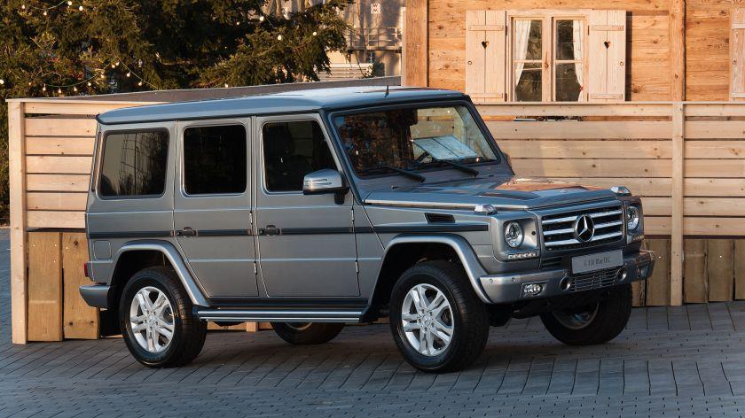 Mercedes Benz G 350 BlueTEC (W463)