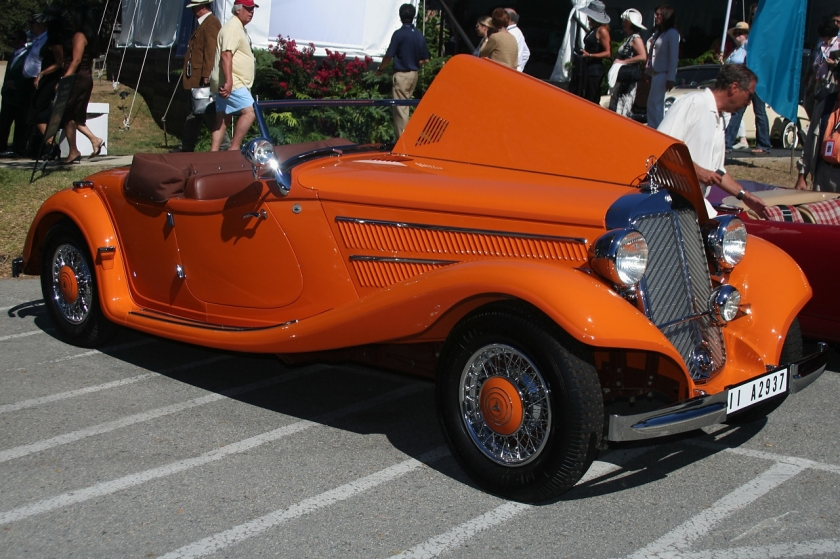 Mercedes Benz Typ 290 Spezial-Roadster W18