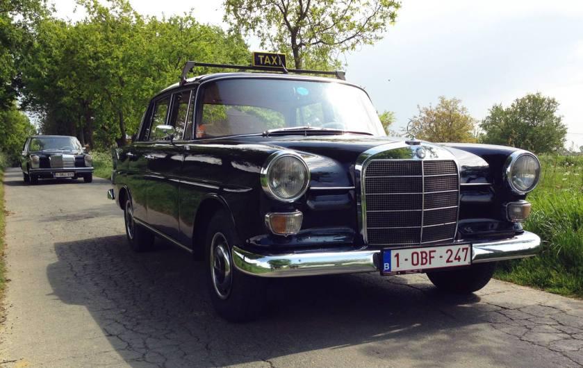 Mercedes Benz W110 taxi a
