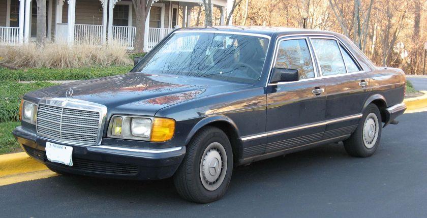Mercedes Benz W126 500SE a