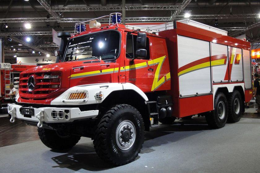 Mercedes Benz Zetros 2733 6x6 technical rescue truck