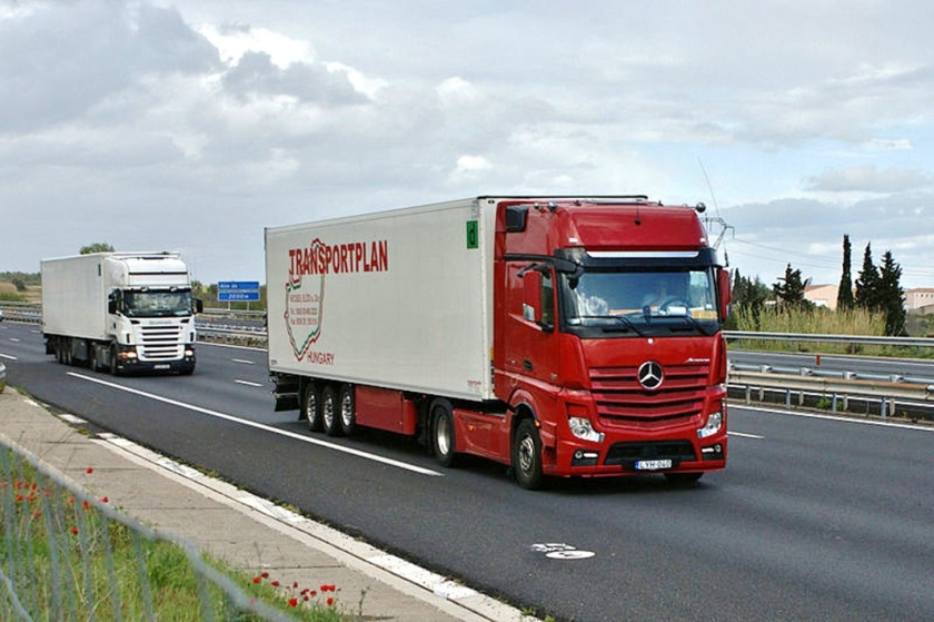 New Actros in France