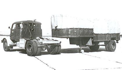 Praga 5ST Trekker en oplegger