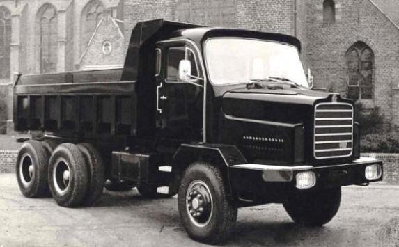 Praga 6x6 met Netam kipper van A.H.A. de MAN