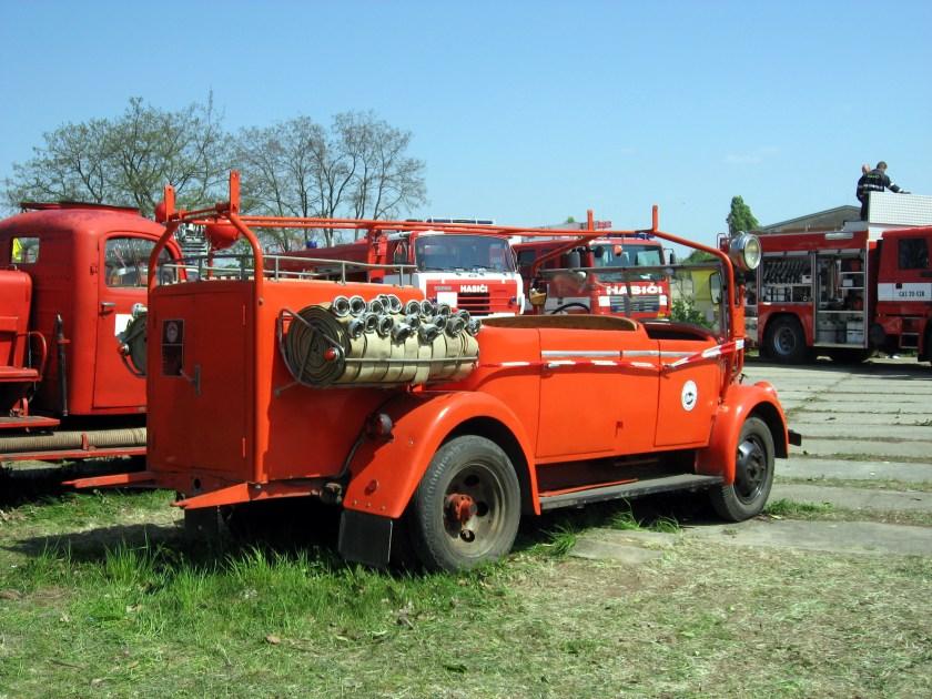 Praga A150 Fire Brigade a